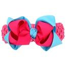 Cloth Fashion Flowers Hair accessories  Watermelon red and blue wide hair band  Fashion Jewelry NHWO1007Watermelonredandbluewidehairband