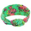 Cloth Fashion Flowers Hair accessories  green  Fashion Jewelry NHWO1039green