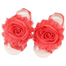 Cloth Simple Flowers Hair accessories  red  Fashion Jewelry NHWO1055red