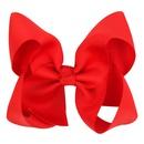 Cloth Fashion Bows Hair accessories  red  Fashion Jewelry NHWO1084red