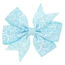 Alloy Fashion Flowers Hair accessories  Blue grid  Fashion Jewelry NHWO1103Bluegrid