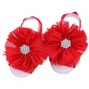 Cloth Fashion Flowers Hair accessories  red  Fashion Jewelry NHWO1108red