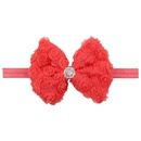 Cloth Fashion Flowers Hair accessories  red  Fashion Jewelry NHWO1109red
