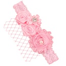 Cloth Fashion Flowers Hair accessories  red  Fashion Jewelry NHWO1128red