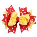 Cloth Fashion Flowers Hair accessories  Yellow red  Fashion Jewelry NHWO1139Yellowred