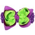 NHWO1007-Green-purple-wide-hair-band