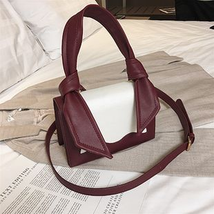 PU Fashion  Shoulder bag  (Red wine)  Fashion Bags NHTC2921-Red-wine's discount tags