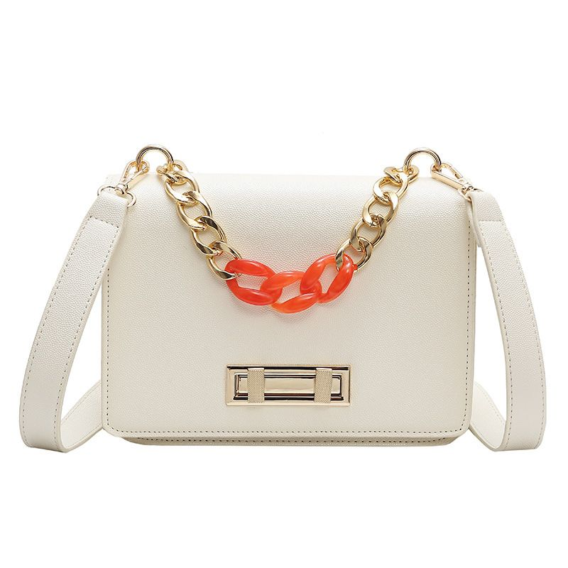 PU Fashion  Shoulder bag  (white)  Fashion Bags NHPB10276-white