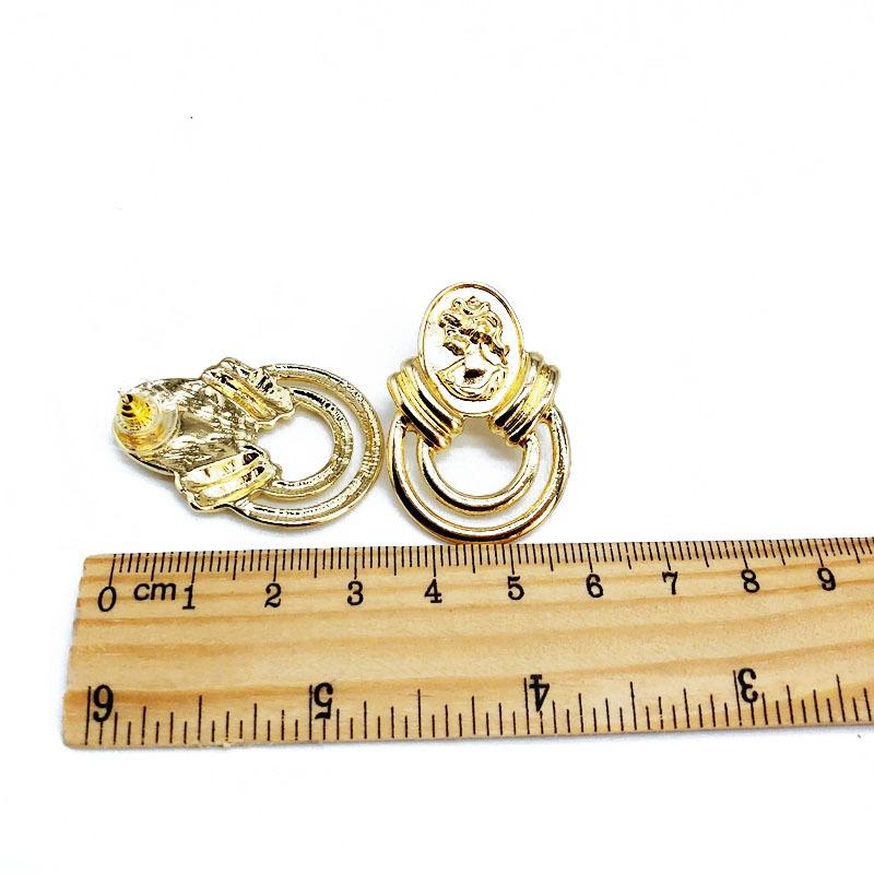 Alloy Fashion  earring  (925 alloy needle stud earrings)  Fashion Jewelry NHOM1377-925-alloy-needle-stud-earrings