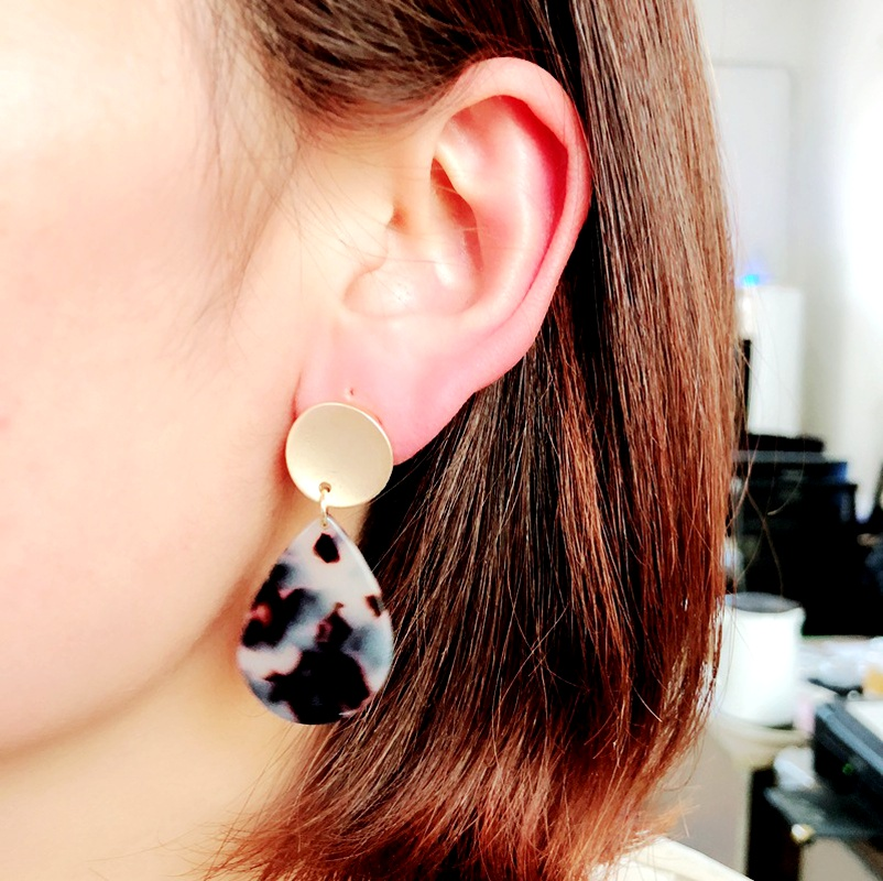 Alloy Fashion  earring  (Photo Color)  Fashion Jewelry NHOM1385-Photo-Color