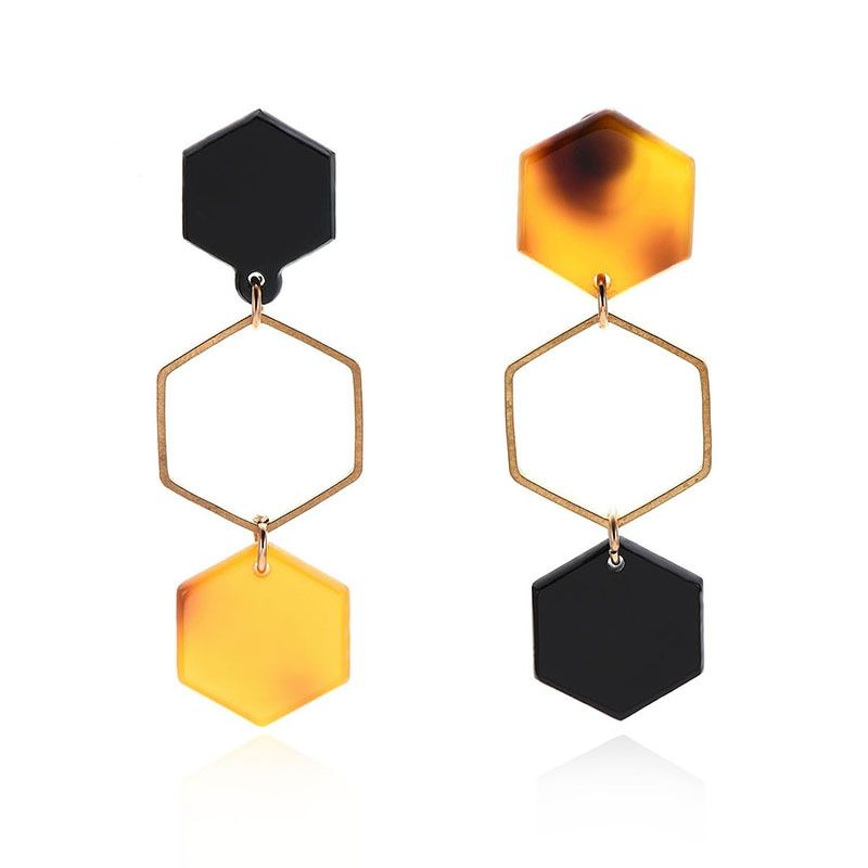 Acrylic Fashion Geometric earring  61189448  Fashion Jewelry NHXS228661189448