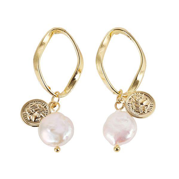 Beads Fashion Geometric earring  (Style one)  Fashion Jewelry NHJQ11279-Style-one