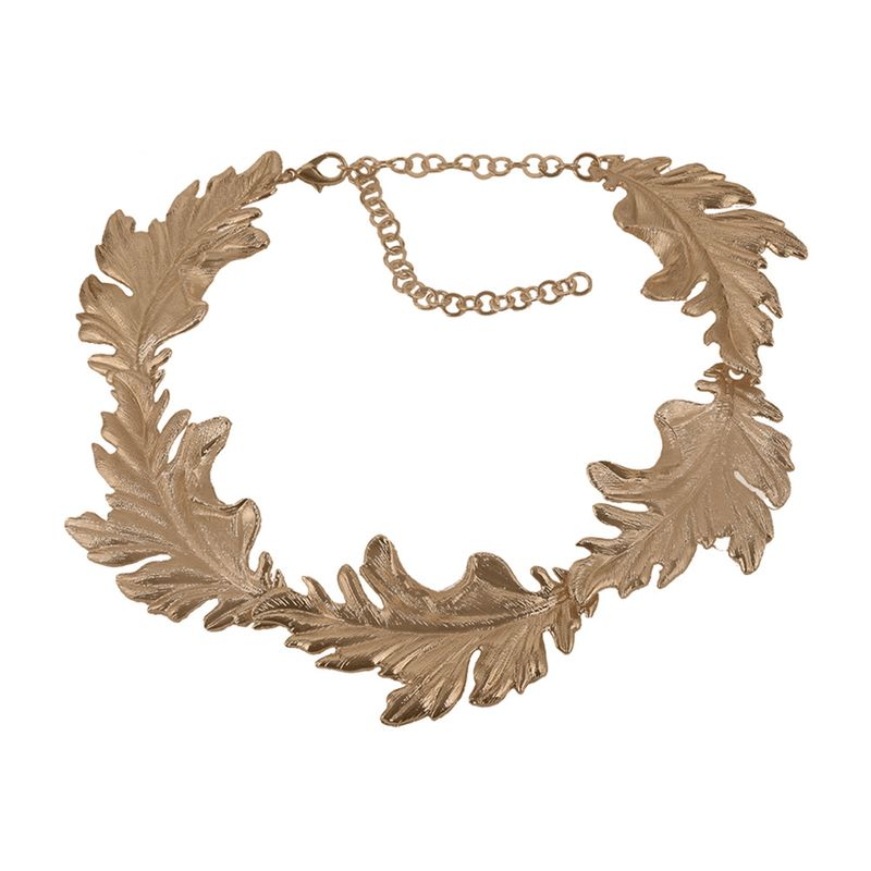 Alloy Fashion Geometric necklace  (Alloy)  Fashion Jewelry NHJQ11291-Alloy
