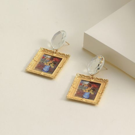 Alloy Fashion Geometric earring  (Alloy)  Fashion Jewelry NHNZ1275-Alloy's discount tags
