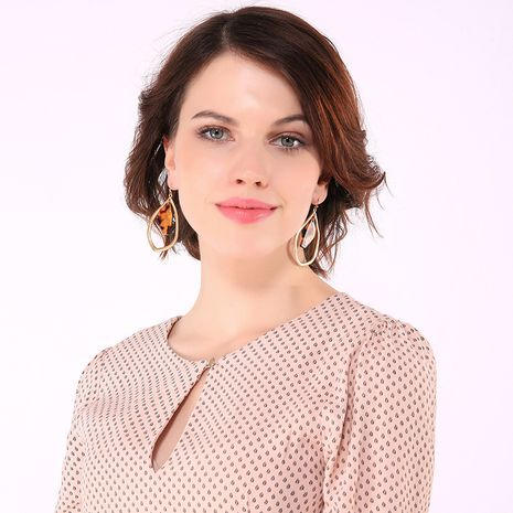 Alloy Fashion Geometric earring  (Photo Color)  Fashion Jewelry NHQD6184-Photo-Color's discount tags