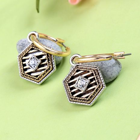 Alloy Fashion Geometric earring  (Photo Color)  Fashion Jewelry NHQD6209-Photo-Color's discount tags