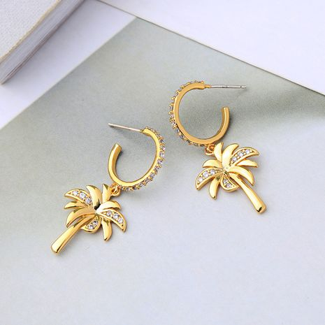 Copper Korea Geometric earring  (Photo Color)  Fine Jewelry NHQD6210-Photo-Color's discount tags