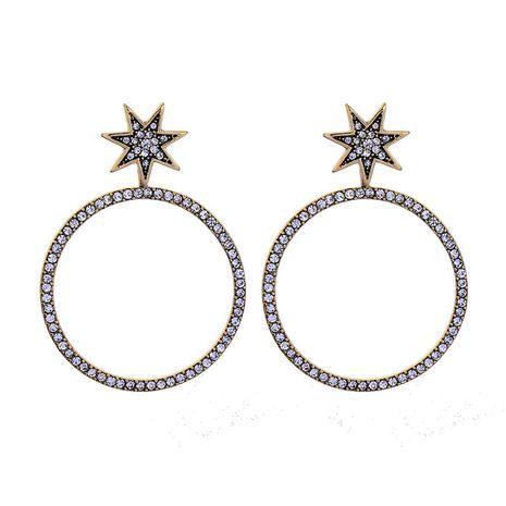 Alloy Fashion Geometric earring  (Star-1)  Fashion Jewelry NHQD6217-Star-1's discount tags