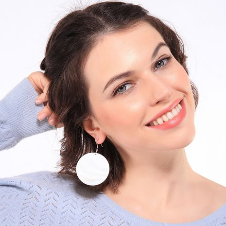 Alloy Korea Geometric earring  (Photo Color)  Fashion Jewelry NHQD6221-Photo-Color's discount tags