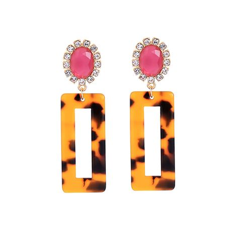 Alloy Fashion Flowers earring  (Leopard-1)  Fashion Jewelry NHQD6224-Leopard-1's discount tags