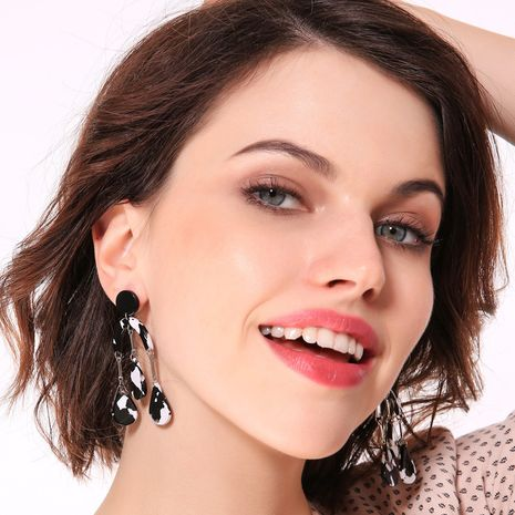 Alloy Fashion Geometric earring  (Photo Color)  Fashion Jewelry NHQD6230-Photo-Color's discount tags