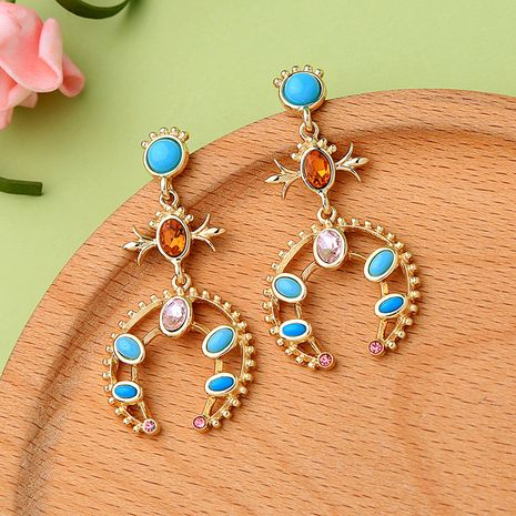 Alloy Fashion Geometric earring  (Photo Color)  Fashion Jewelry NHQD6234-Photo-Color's discount tags