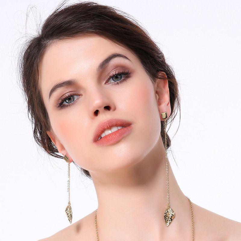 Alloy Fashion Geometric earring  (Photo Color)  Fashion Jewelry NHQD6236-Photo-Color