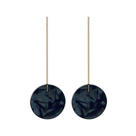 Alloy Fashion Geometric earring  (Black-1)  Fashion Jewelry NHQD6253-Black-1's discount tags