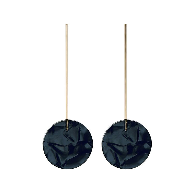 Alloy Fashion Geometric earring  Black1  Fashion Jewelry NHQD6253Black1