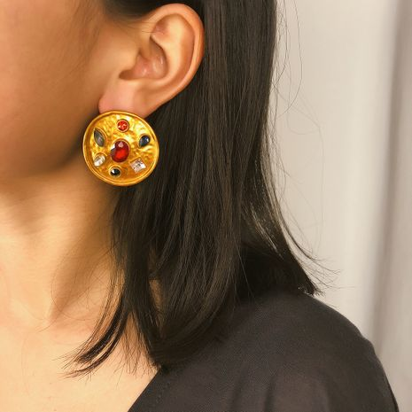 Alloy Fashion Geometric earring  (Alloy 1336)  Fashion Jewelry NHXR2734-Alloy-1336's discount tags
