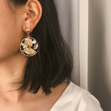 Alloy Simple Geometric earring  (Alloy 1311)  Fashion Jewelry NHXR2740-Alloy-1311's discount tags