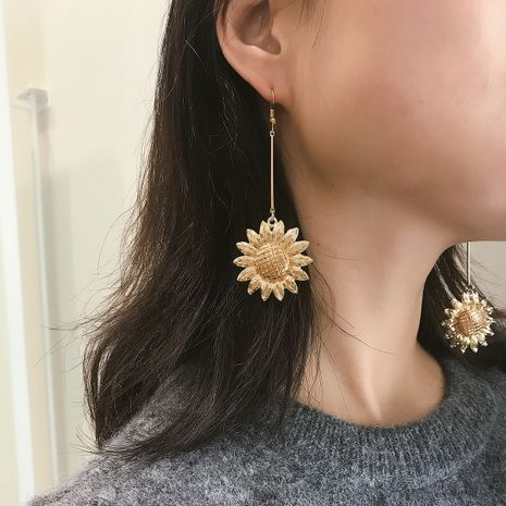 Alloy Simple Flowers earring  (Alloy 1312)  Fashion Jewelry NHXR2743-Alloy-1312's discount tags
