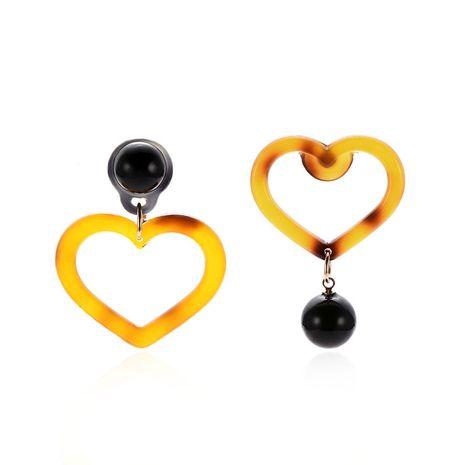 Acrylic Fashion Sweetheart earring  (61189459)  Fashion Jewelry NHXS2347-61189459's discount tags