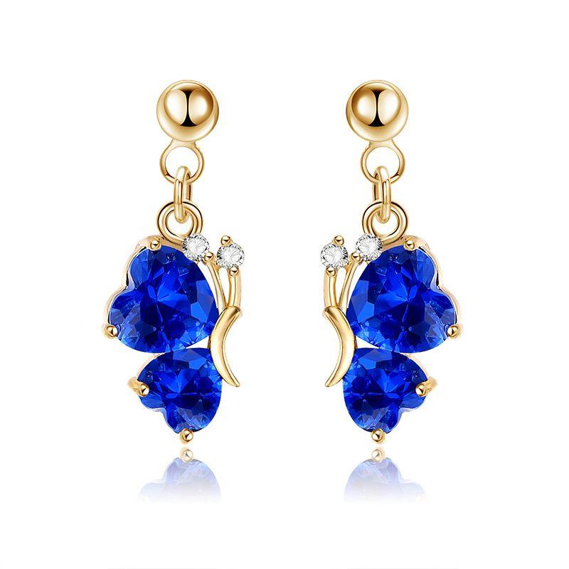 Copper Fashion Bows earring  61189579A  Fine Jewelry NHXS236061189579A
