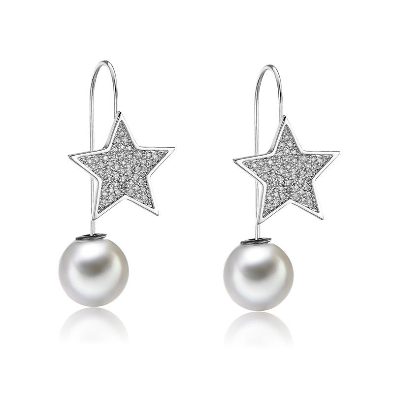 Copper Fashion Geometric earring  (61189599)  Fine Jewelry NHXS2364-61189599