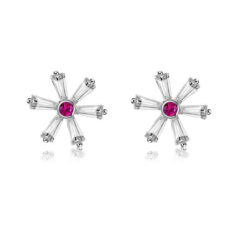 Copper Fashion Flowers earring  61189602  Fine Jewelry NHXS236861189602