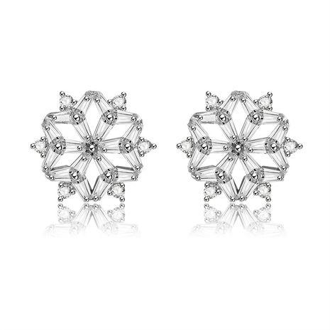 Copper Fashion Geometric earring  (61189686)  Fine Jewelry NHXS2370-61189686's discount tags