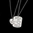 Alloy Fashion Sweetheart necklace  Daddy  Fashion Jewelry NHHN0443Daddy