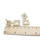 Alloy Fashion  earring  925 alloy needle stud earrings  Fashion Jewelry NHOM1375925alloyneedlestudearrings