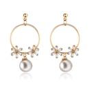 Copper Fashion Flowers earring  61189585  Fine Jewelry NHXS230361189585