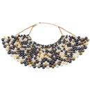 Acrylic Fashion Geometric necklace  yellow  Fashion Jewelry NHJQ11273yellow