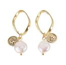Beads Fashion Geometric earring  Style one  Fashion Jewelry NHJQ11279Styleone