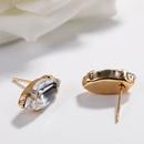 Alloy Simple Geometric earring  white  Fashion Jewelry NHJQ11284white