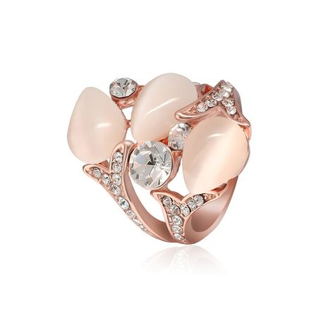 Copper Fashion Flowers Ring  (Rose Alloy-61165116A-16mm)  Fine Jewelry NHLP1421-Rose-Alloy-61165116A-16mm's discount tags