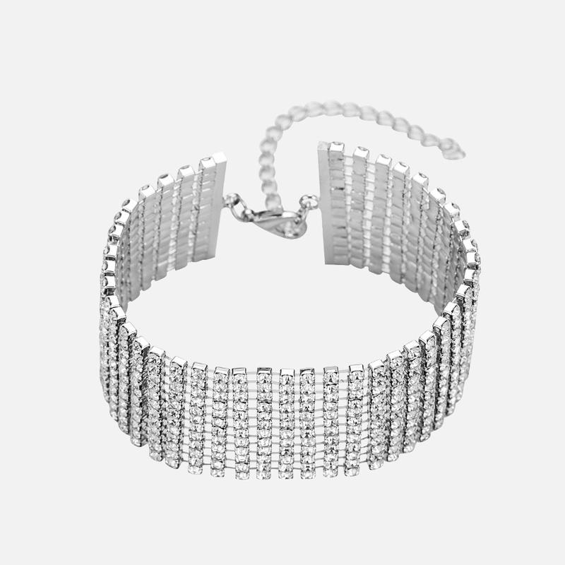 Copper Fashion Geometric bracelet  B00215 alloy  Fine Jewelry NHWF3744B00215alloy
