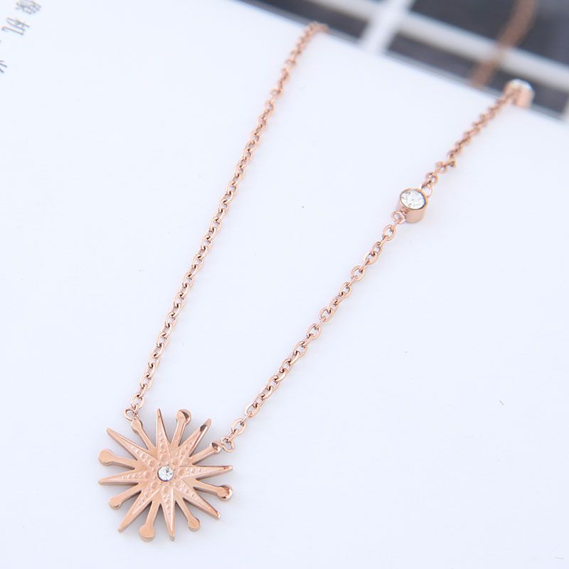 TitaniumStainless Steel Fashion necklace  NHNSC15276
