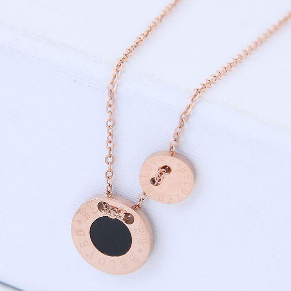 Titanium&Stainless Steel Fashion necklace  NHNSC15283