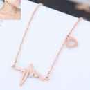 TitaniumStainless Steel Fashion necklace  NHNSC15256