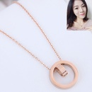 TitaniumStainless Steel Fashion necklace  NHNSC15278