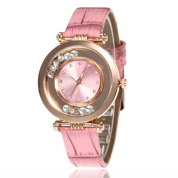 Alloy Fashion  Ladies watch  (1-powder)  Fashion Watches NHMM2280-1-powder